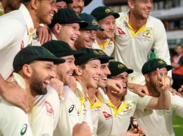 Australia during 2019 Ashes Tour (image - News Corp)