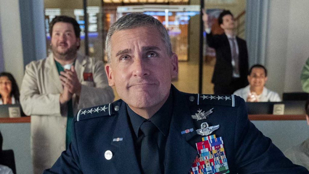 NETFLIX releases new extended trailer for upcoming Steve Carell comedy SPACE FORCE