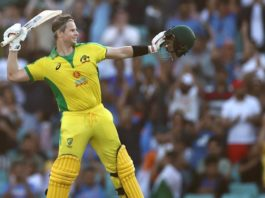 Steve Smith at the SCG (image - News Corp)