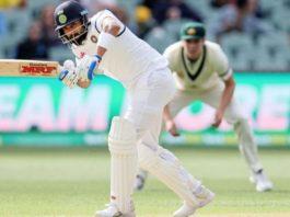 Virat Kohli batting in Adelaide. (image - dnaindia.com)