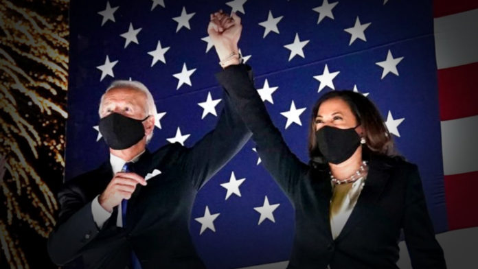 Joe Biden and Kamala Harris (image - ABC)