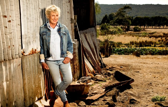 Heather Ewart presents Back Roads (image - ABC)