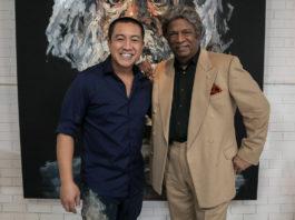 Kamahl with Anh Do (image - ABC)