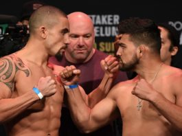 Robert Whittaker faces Kelvin Gastelum (image - UFC)