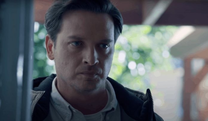 Aden Young in The Reckoning (image - Sony)