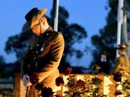 Dawn Service on Anzac Day (image - araratadvertiser)