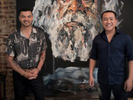 Guy Sebastian with Anh Do (image - ABC)