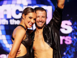 Luke Jacobz and Jorja Freeman (image - Channel 7)