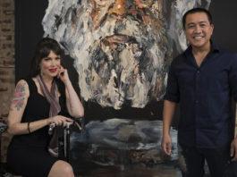 Tara Moss and Anh Do (image - ABC)