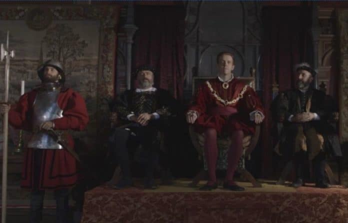 Henry VIII And The King's Men (image - SBS)