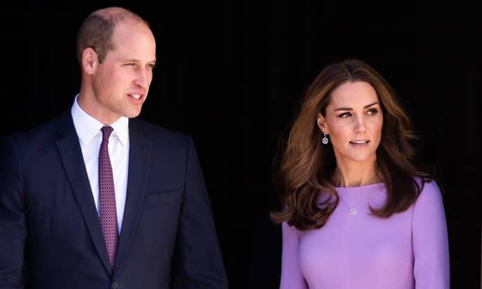 Prince William and Kate Middleton (image - Hello Magazine)
