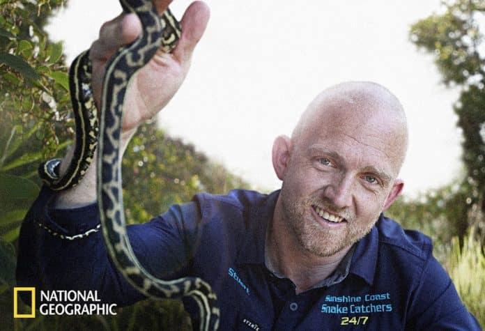 Aussie Snake Wranglers (image - Nat Geo)