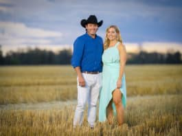 Farmer Will and Jaimee (image - Channel 7)