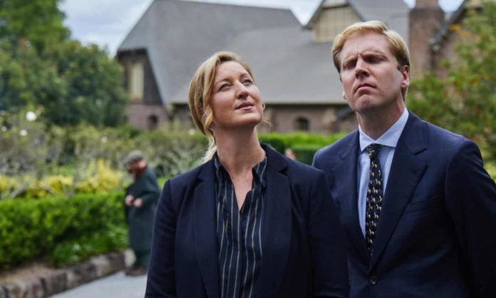 Kate Box and Mark Humphries in The Moth Effect (image - Amazon)
