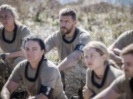 Manu Feildel with other SAS AUSTRALIA recruits (image - Seven)