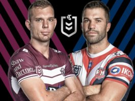 Sea Eagles v Roosters